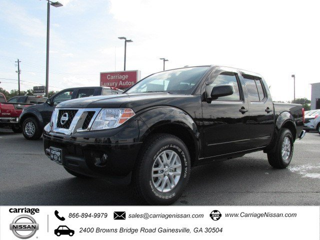 new 2015 nissan frontier sv crew cab pickup in gainesville. Black Bedroom Furniture Sets. Home Design Ideas