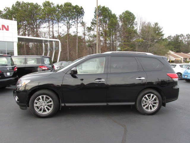 new 2015 nissan pathfinder sv 2wd 4 dr suv in gainesville. Black Bedroom Furniture Sets. Home Design Ideas
